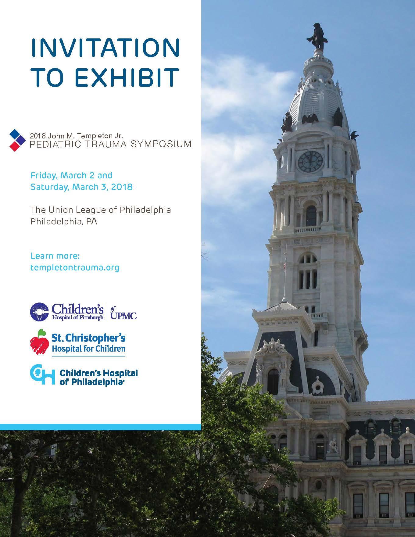 John M  Templeton Jr  Pediatric Trauma Symposium