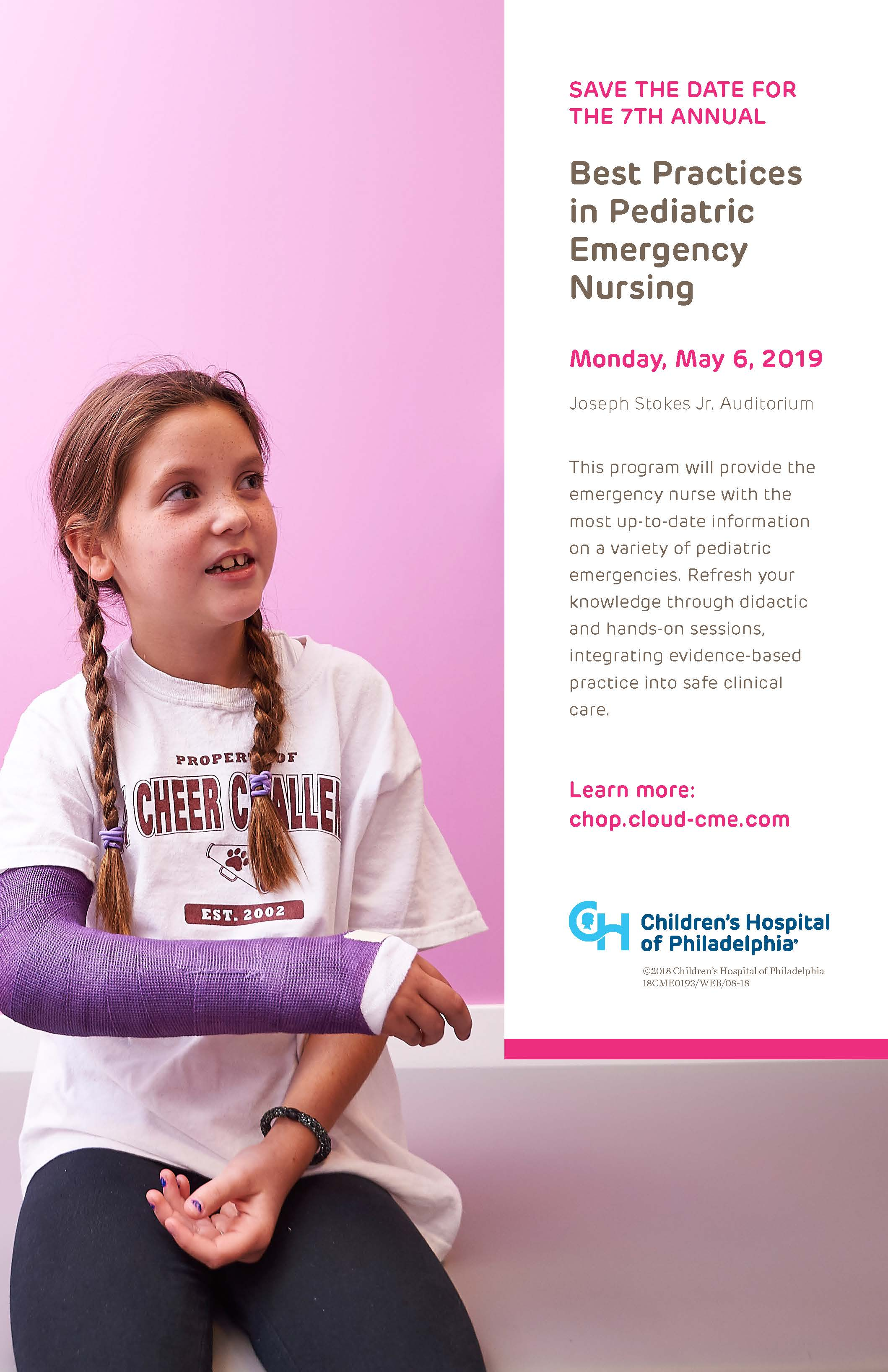 7th Annual Best Practices in Pediatric Emergency Nursing Banner