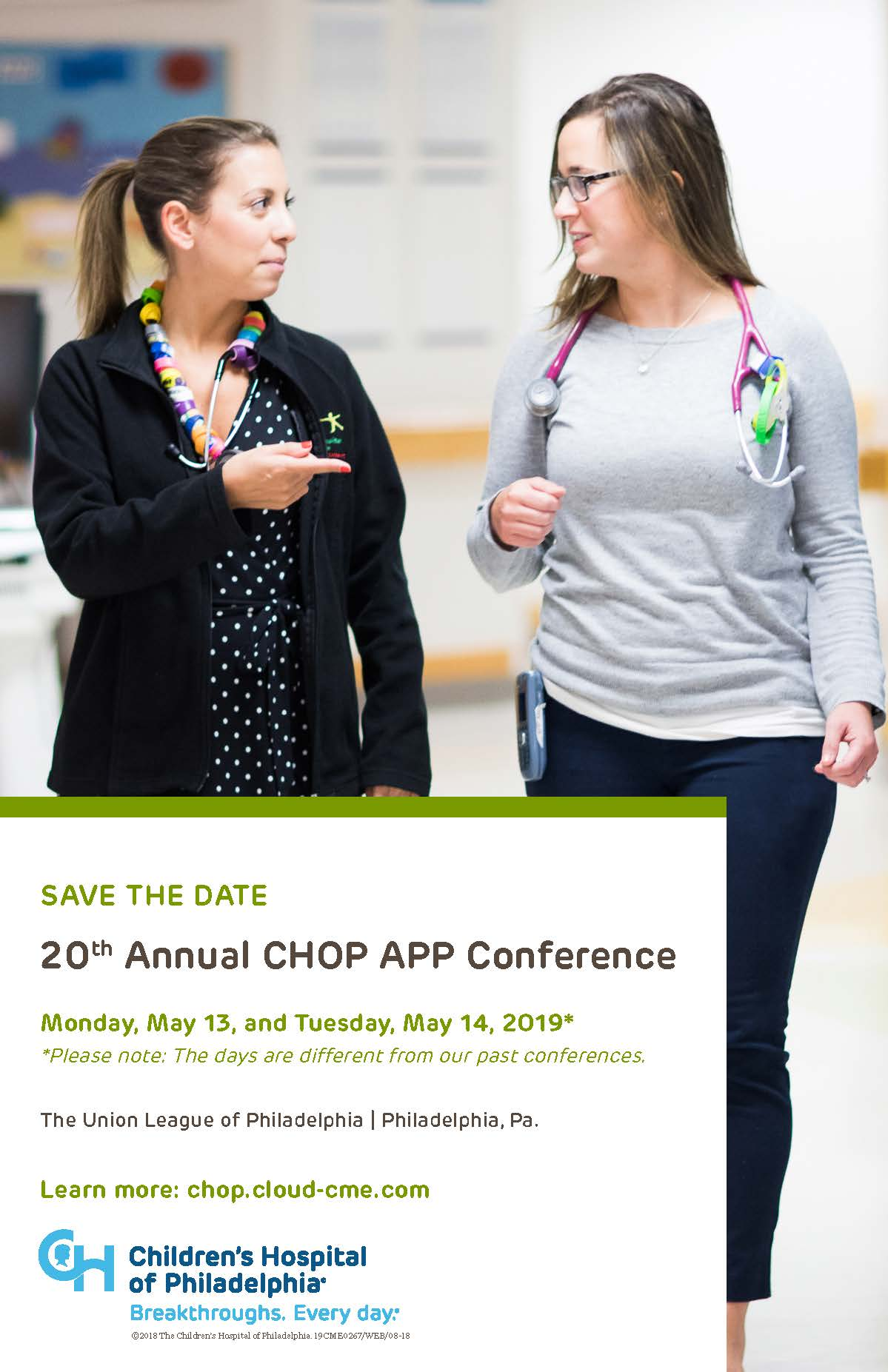 20th Annual CHOP APP Conference Banner