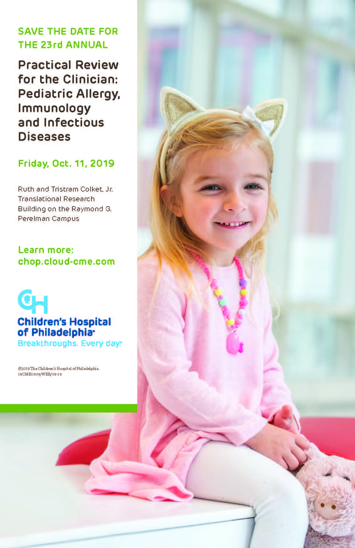 23rd ANNUAL Practical Review for the Clinician: Pediatric Allergy, Immunology and Infectious Diseases Banner
