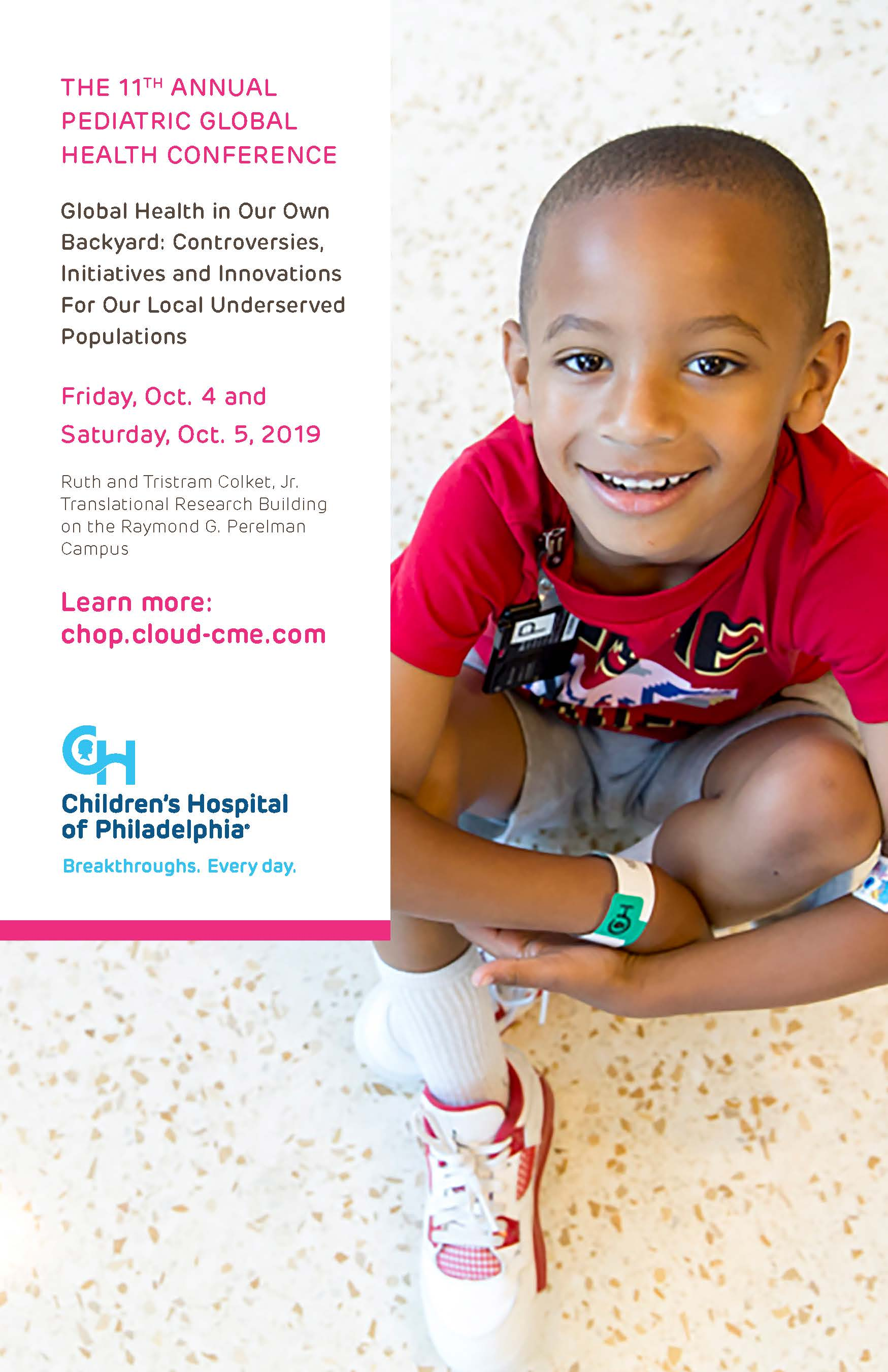 Children's Hospital of Philadelphia Continuing Medical Education