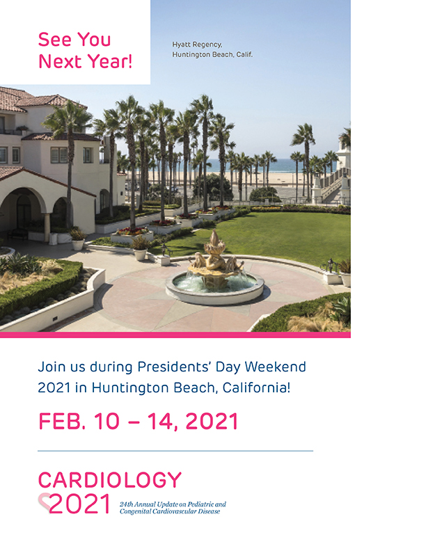 Cardiology 2021: 24th Annual Update on Pediatric and Congenital Cardiovascular Disease Banner