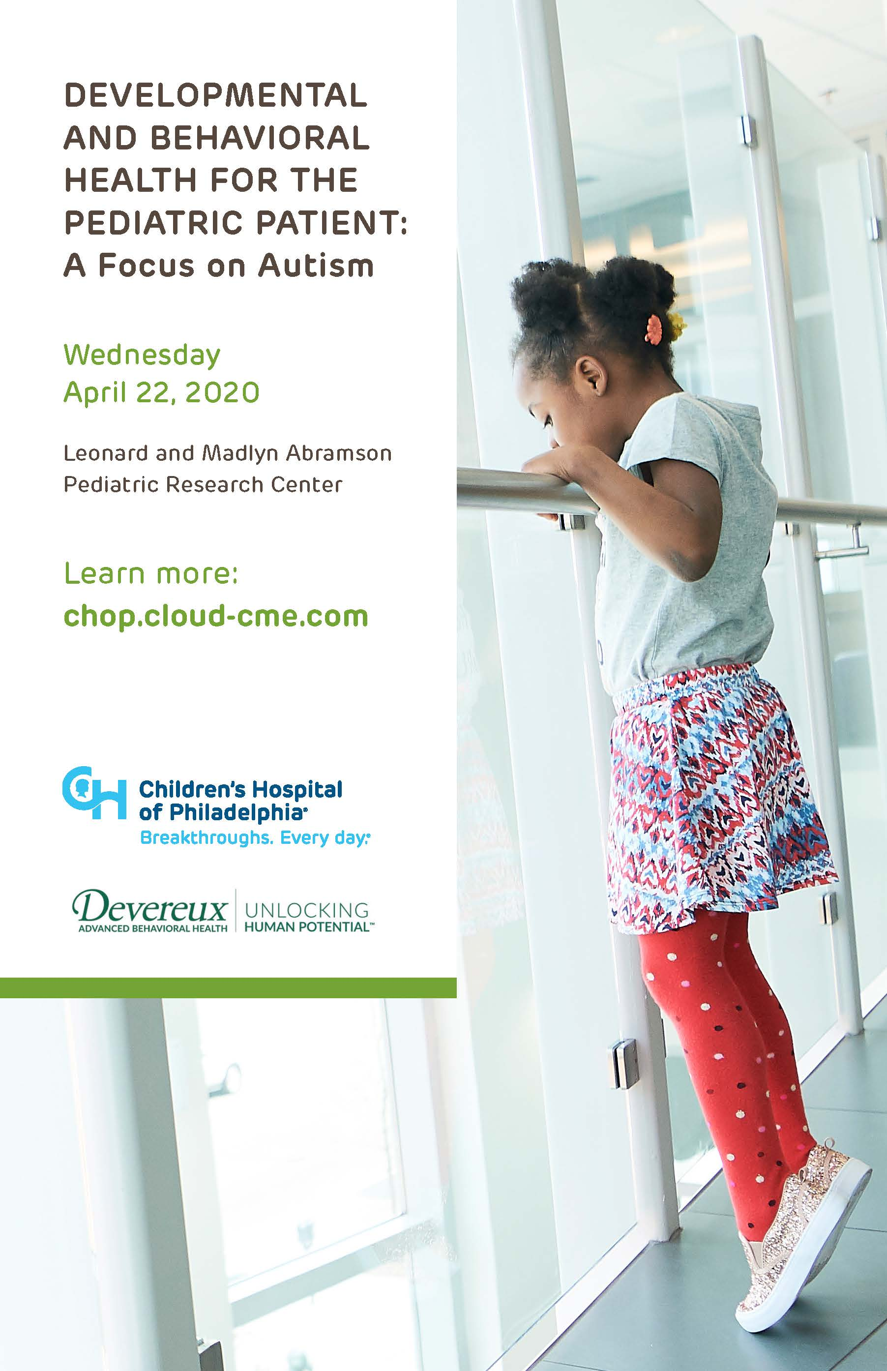 Developmental and Behavioral Health for the Pediatric Patient Banner