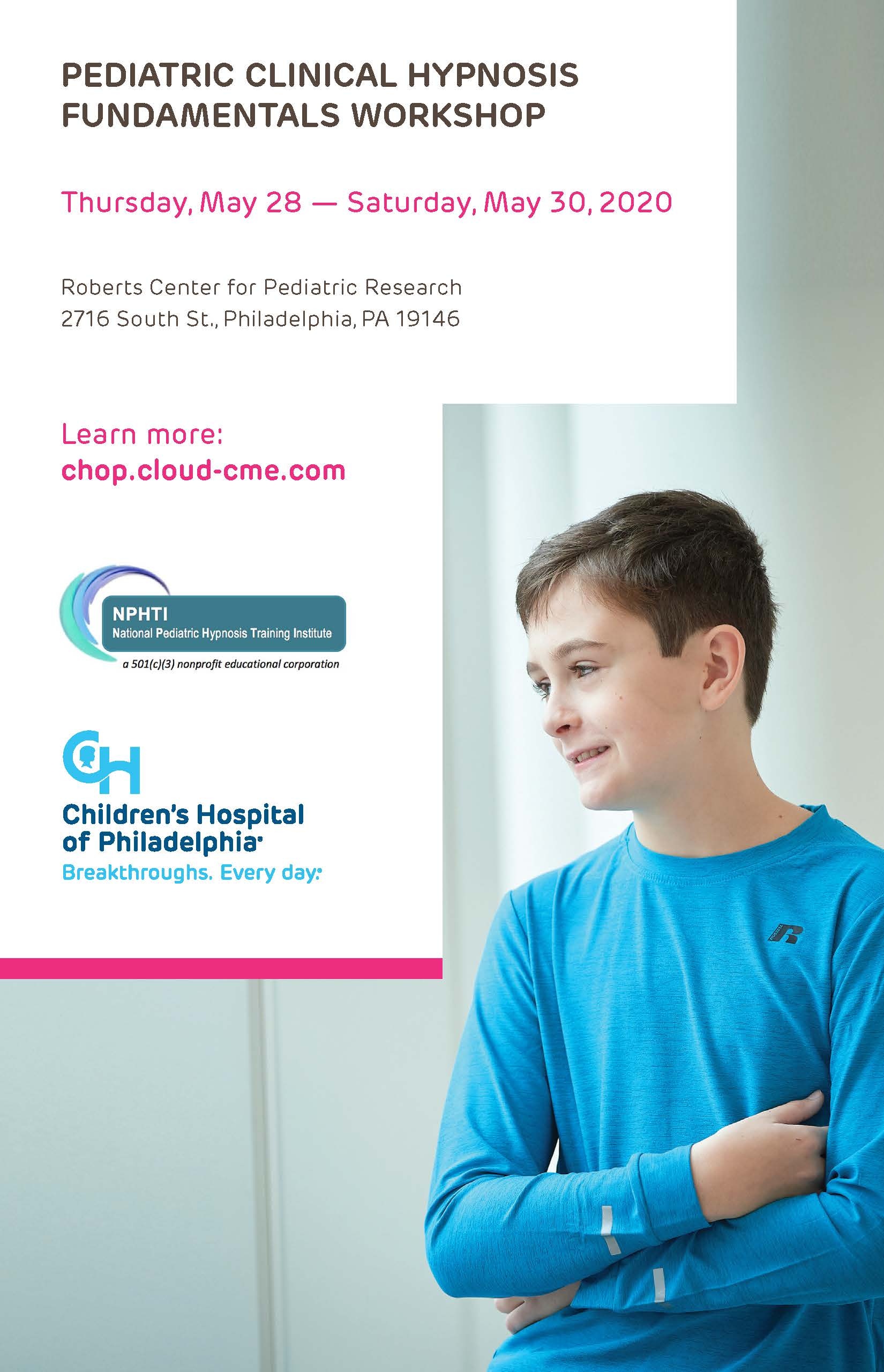 Pediatric Clinical Hypnosis Workshop: Fundamentals of Pediatric Clinical Hypnosis Banner
