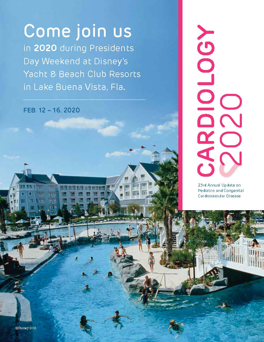Cardiology 2020: Annual Update on Pediatric and Congenital Cardiovascular Disease Banner